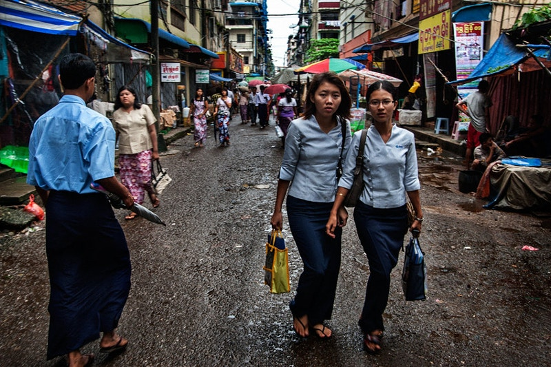 Yangon ladies - Laxmi