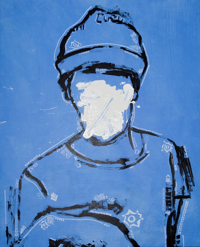 We're All Rebels At One Point (Blue Boy) - Isabella Innis