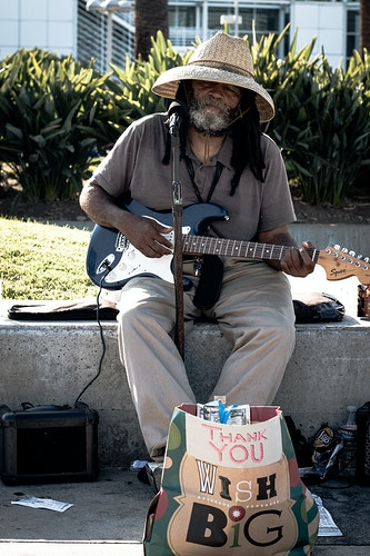 Singing The Blues - Staple Center Los Angeles - James Augustine