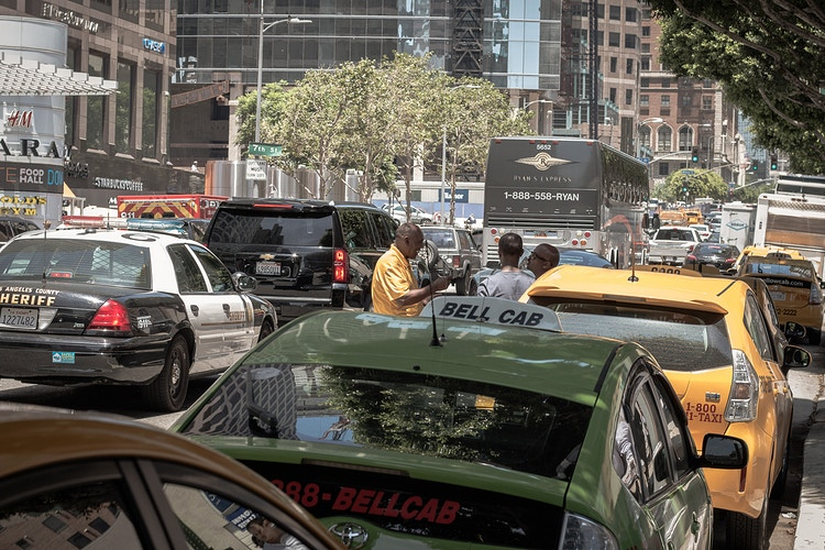 Taxi Zone -  Downtown Los Angeles - James Augustine