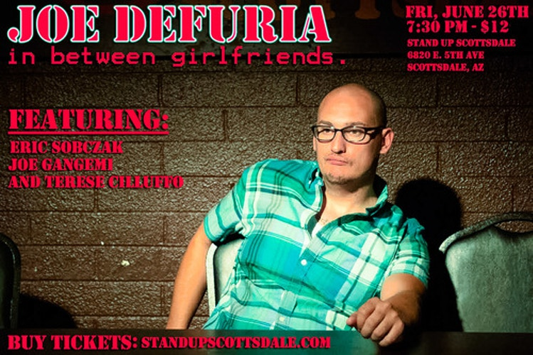 PROMO SHOT FOR JOE DEFURIA AND FRIENDS - James Augustine