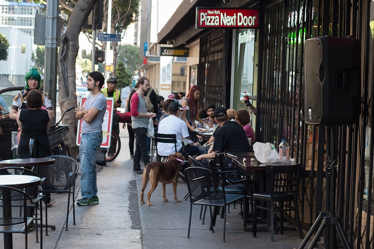 Good Food and Socializing in L.A. - James Augustine
