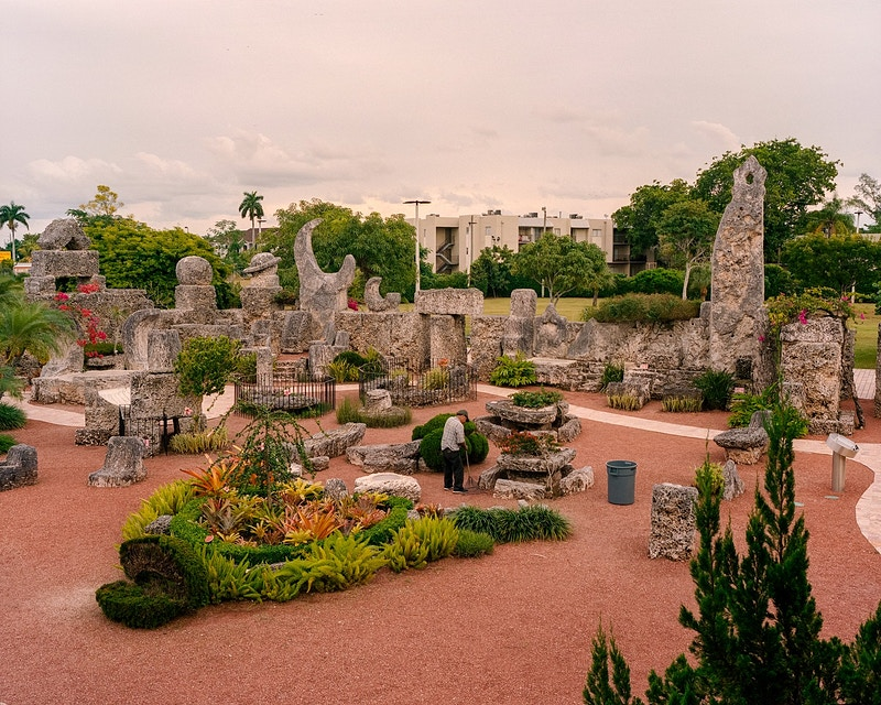 Coral Castle - James Elliot Bailey - LA Photographer