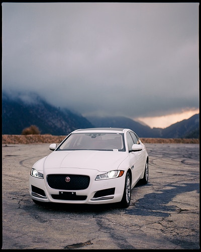 Jaguar Xf - James Elliot Bailey - LA Photographer