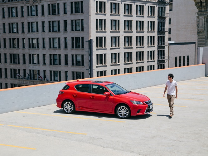 Lexus ct200h - James Elliot Bailey - LA Photographer