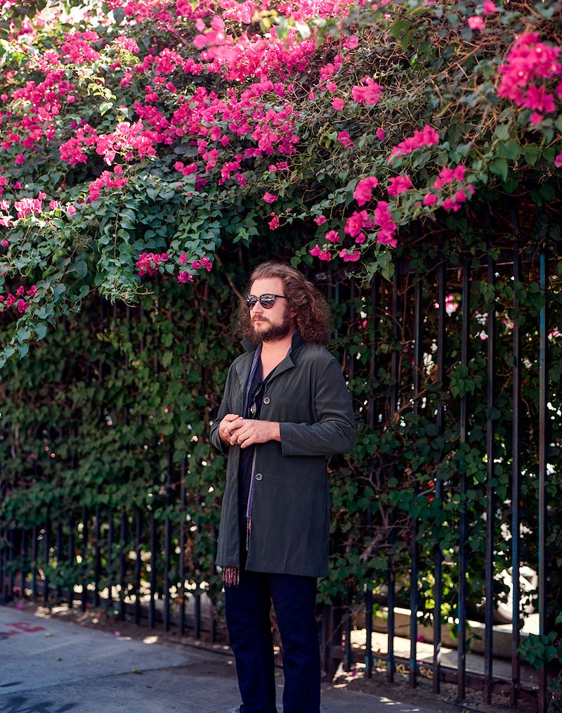 Jim James - James Elliot Bailey - LA Photographer