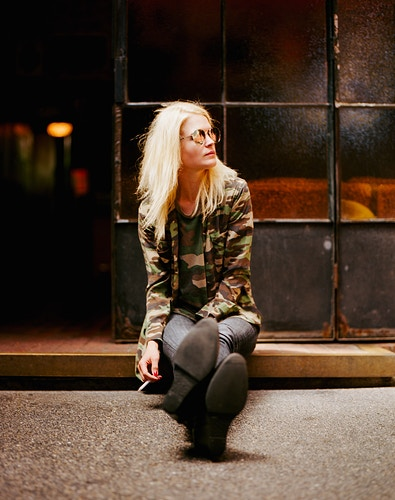 Alison Mosshart - James Elliot Bailey - LA Photographer