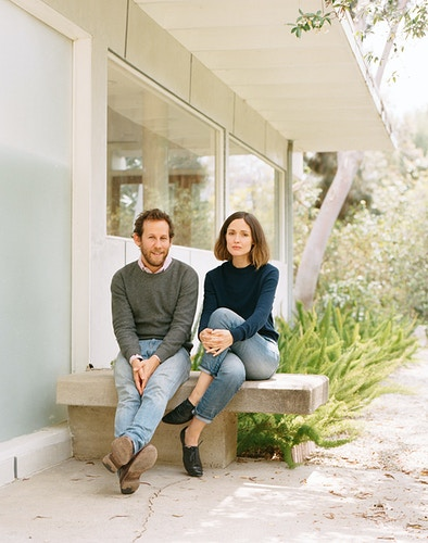 Ben Lee and Rose Byrne - James Elliot Bailey - LA Photographer