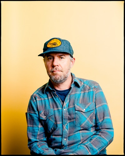Jason Lytle of Grandaddy - James Elliot Bailey - LA Photographer