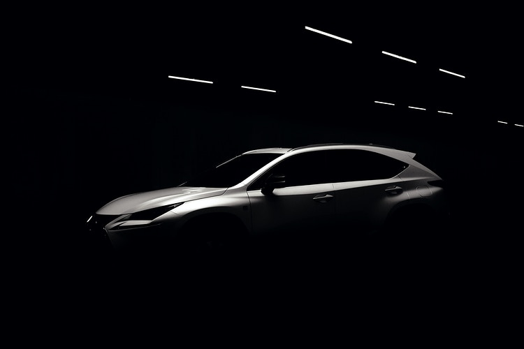 Lexus Nx - James Elliot Bailey - LA Photographer
