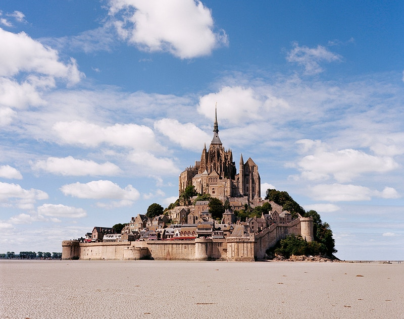 Mont Saint Michel - James Elliot Bailey - LA Photographer