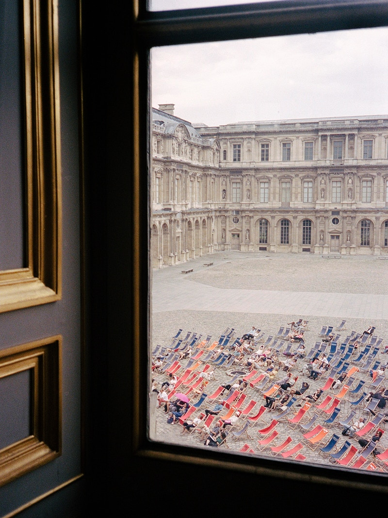 Museums Of Paris - James Elliot Bailey - LA Photographer