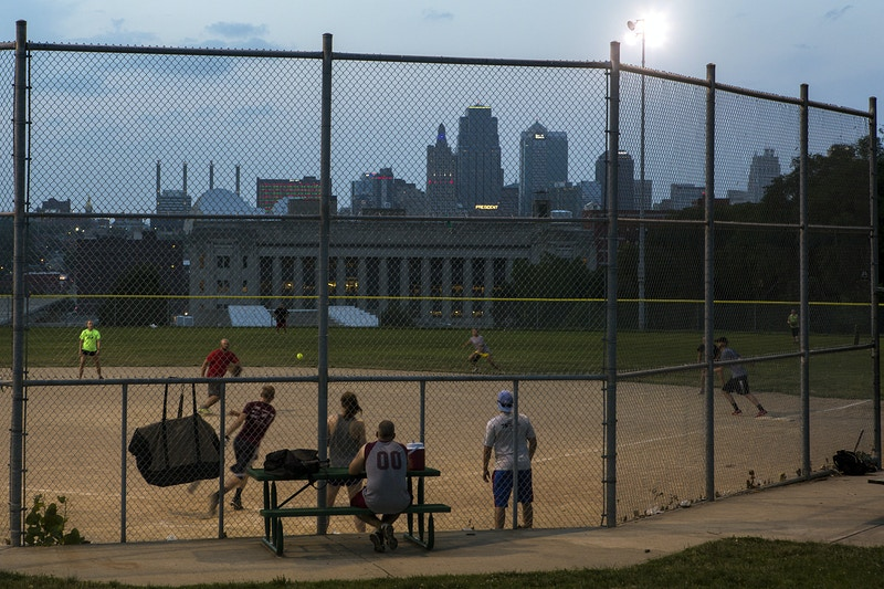 Kansas Citys Pastime - James Wooldridge Visual Storytelling