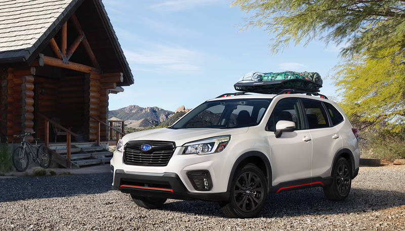 Subaru Forester - Jan Appleton - Prop Stylist