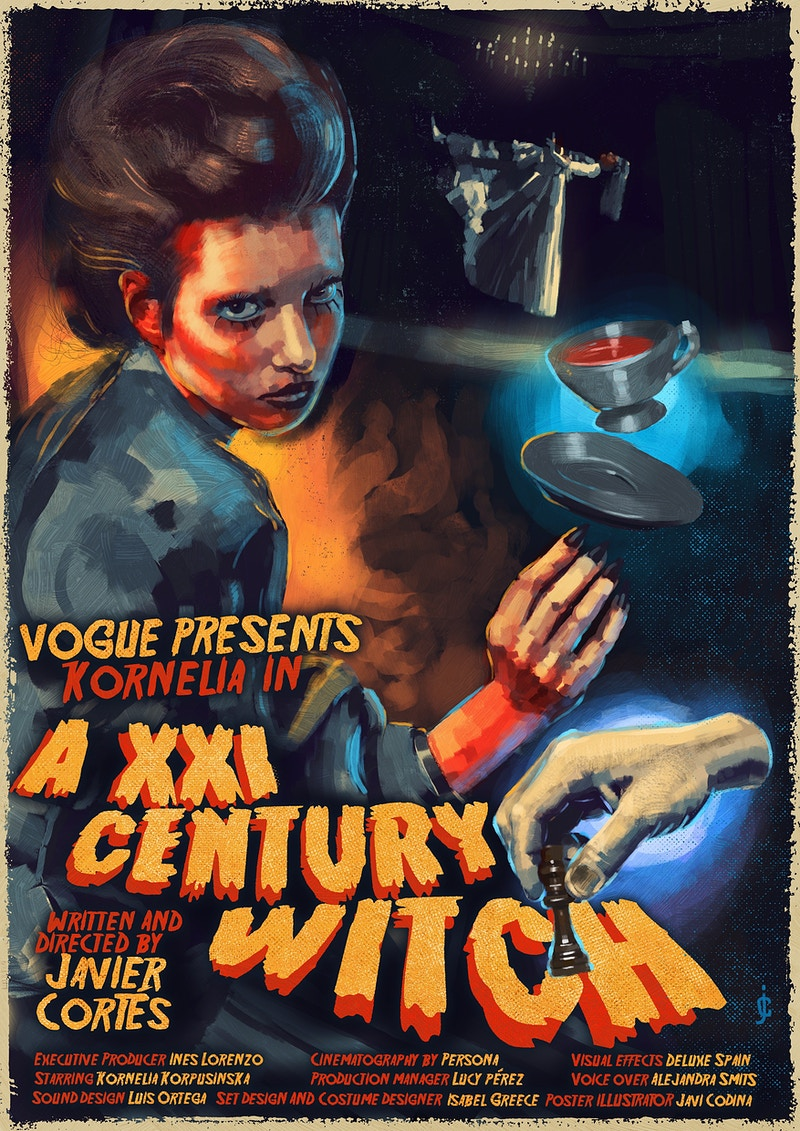 A Xxi Century Witch X Vogue - JAVIER CORTÉS