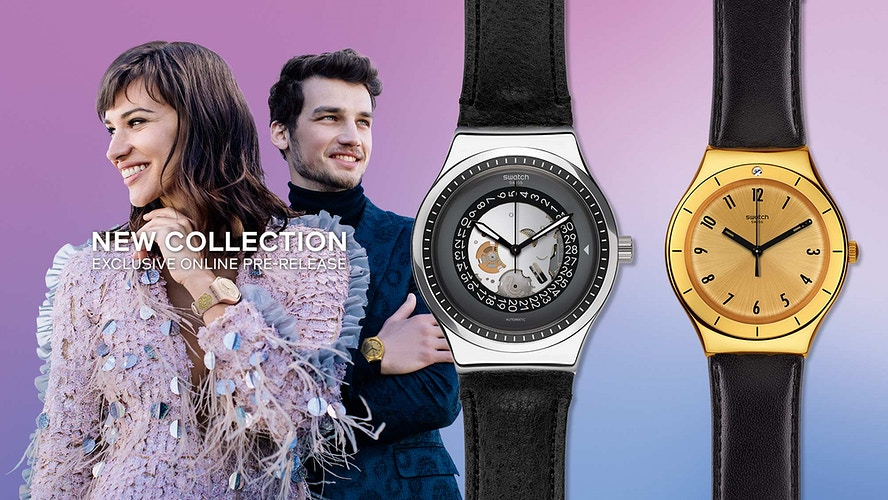 SWATCH - Lookbook Winter 2017 - JAVIER CORTÉS