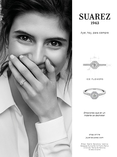 Jewellery engagement campaign for  Suarez - JAVIER CORTÉS