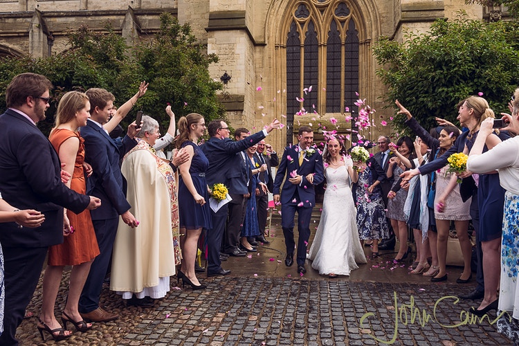 Confetti - JC Wedding Photography - Oxford wedding photographer