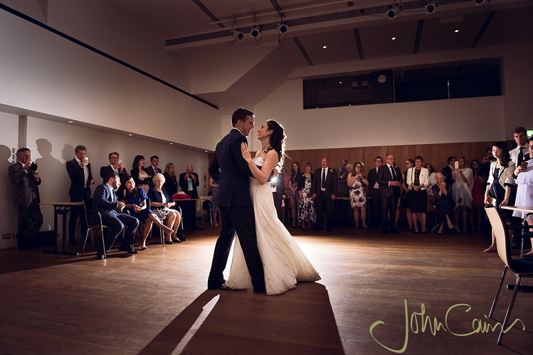 First dance - JC Wedding Photography - Oxford wedding photographer