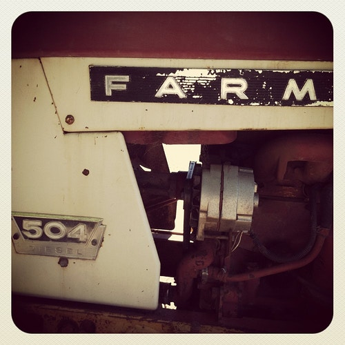 Tractor at Ellwood Canyon Farms - Jeanine Brandi Photography