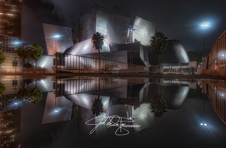 Disney Concert Hall - Jed de la Paz Photography