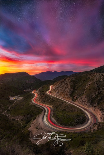 Grimes Canyon Road - Jed de la Paz Photography