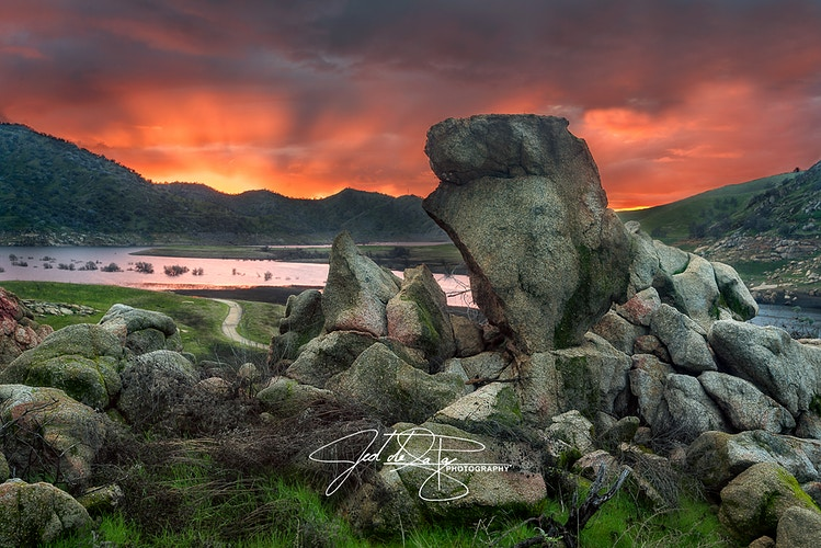 Lake Kaweah - Jed de la Paz Photography
