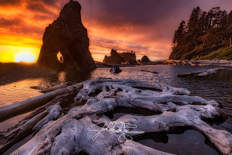 Ruby Beach - Jed de la Paz Photography