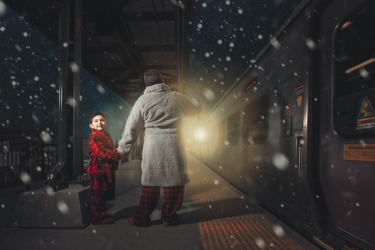 2015 Holiday Studio Session - Polar Express - New York, New Jersey and Connecticut Photographer | Jesse Rinka