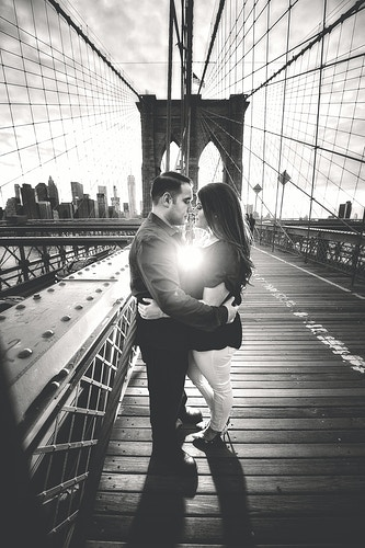 Danielle And Carmine Brooklyn Engagement Session - New York, New Jersey and Connecticut Photographer   Jesse Rinka