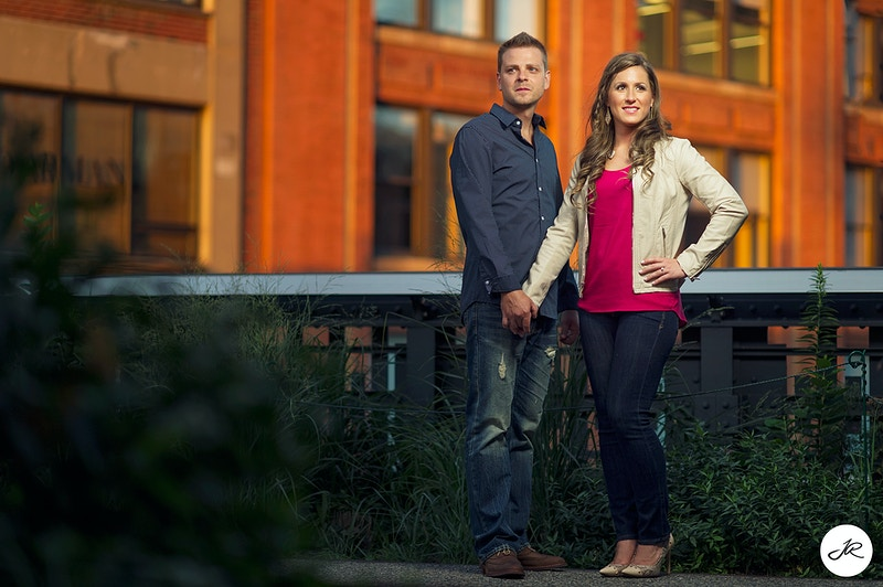 Highline NYC Engagement - New York, New Jersey and Connecticut Photographer | Jesse Rinka