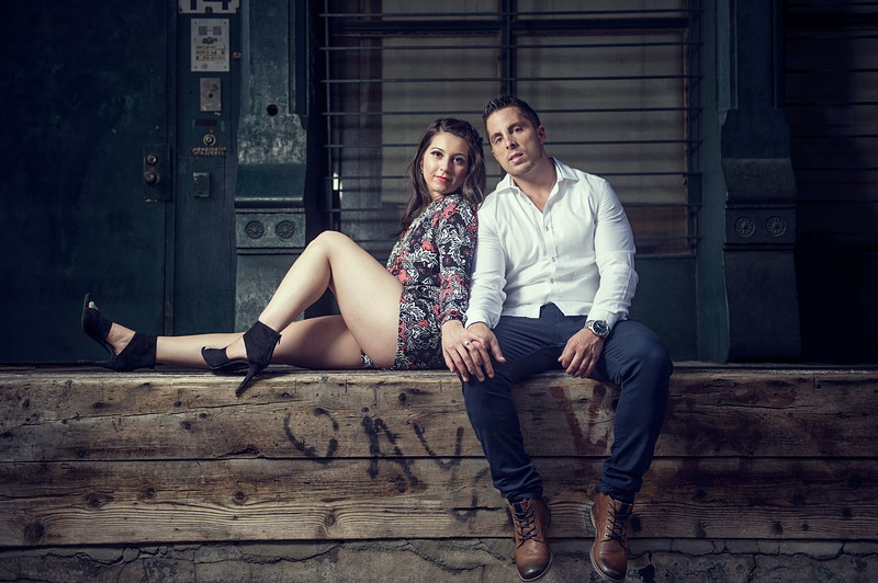 Tribeca Engagement - New York, New Jersey and Connecticut Photographer | Jesse Rinka