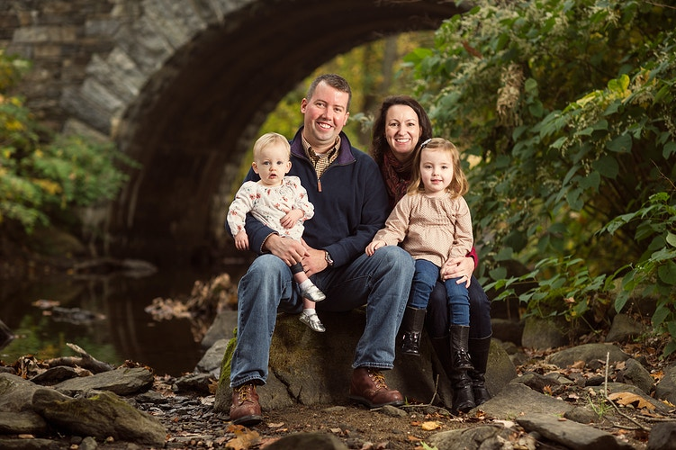 Outdoor Fall Family Portrait Session - New York, New Jersey and Connecticut Photographer | Jesse Rinka