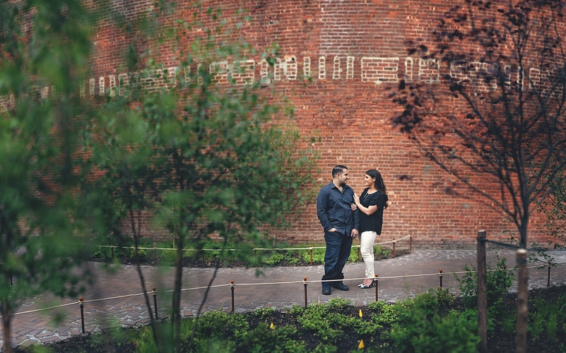 Danielle And Carmine Brooklyn Engagement Session - New York, New Jersey and Connecticut Photographer | Jesse Rinka
