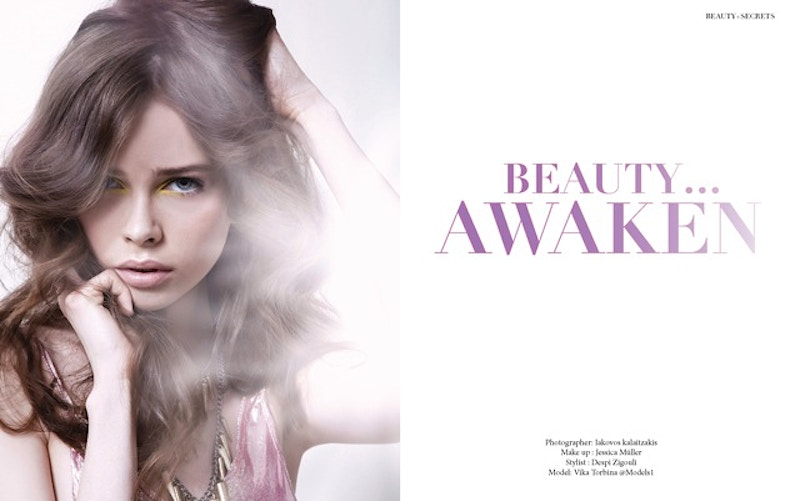 Editorial - Jessica Mueller - Makeup & Hair