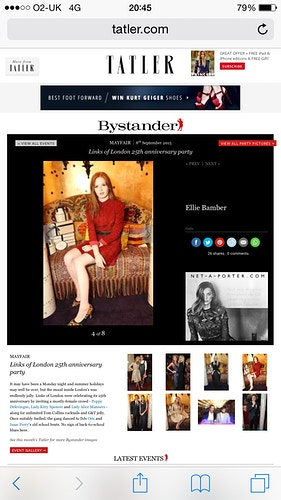 Ellie Bamber - Jess Richardson-Smith | Fashion Stylist