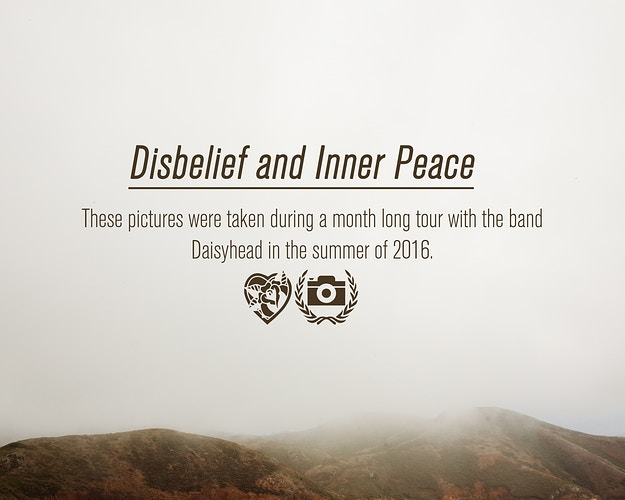 Disbelief And Inner Peace - Jamie M. Moore