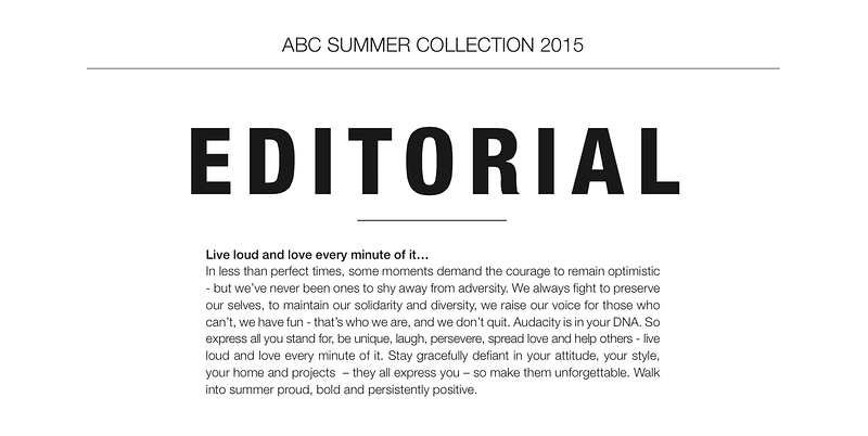 Abc Mag Editorial Spring 2015 - JOEARIDA