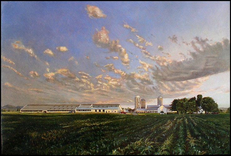 Clouds over Remillard Farms - JoeRemillard
