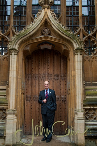 Professor Andrew Hamilton - former Vice-Chancellor of Oxford University - John Cairns Photography