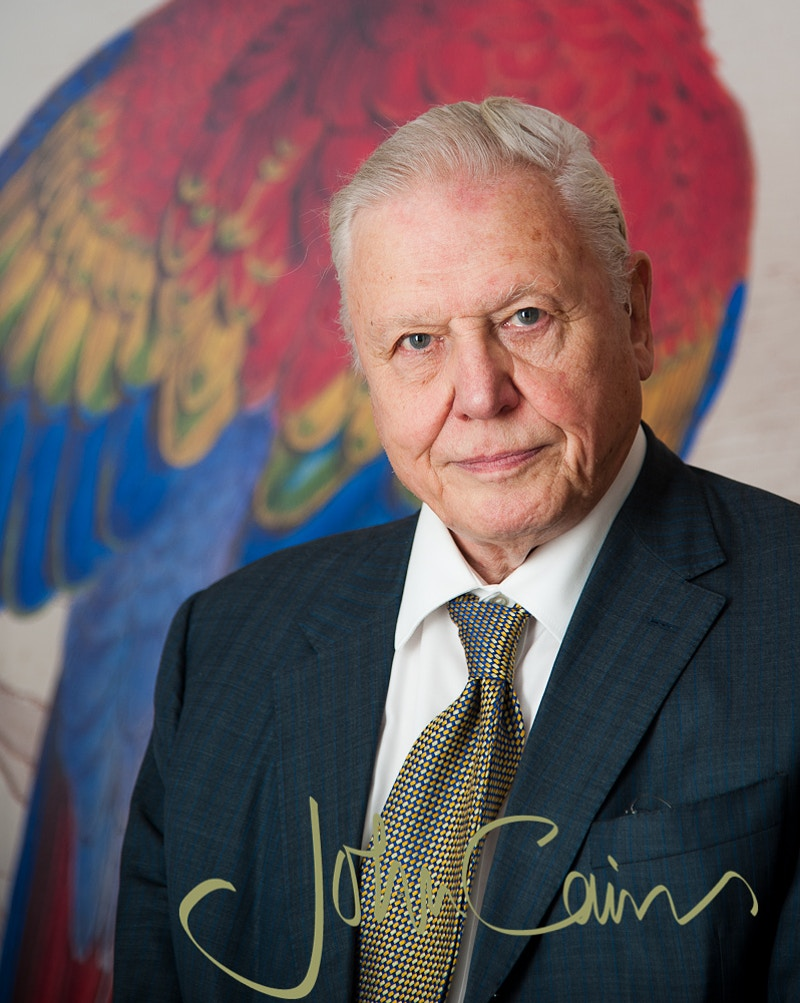Sir David Attenborough - John Cairns Photography