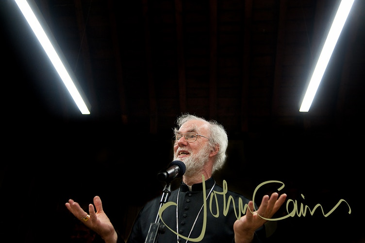 Dr Rowan Williams - Former Archbishop of Canterbury - John Cairns Photography