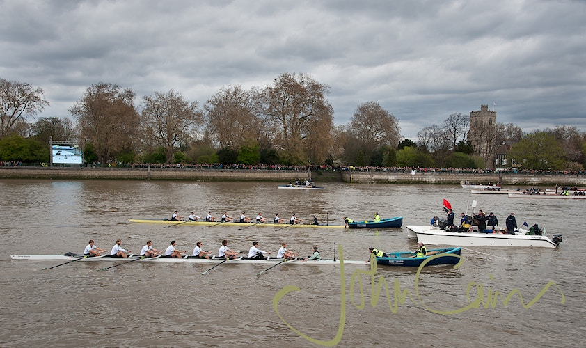 Oxford - Cambridge Boat Race - John Cairns Photography