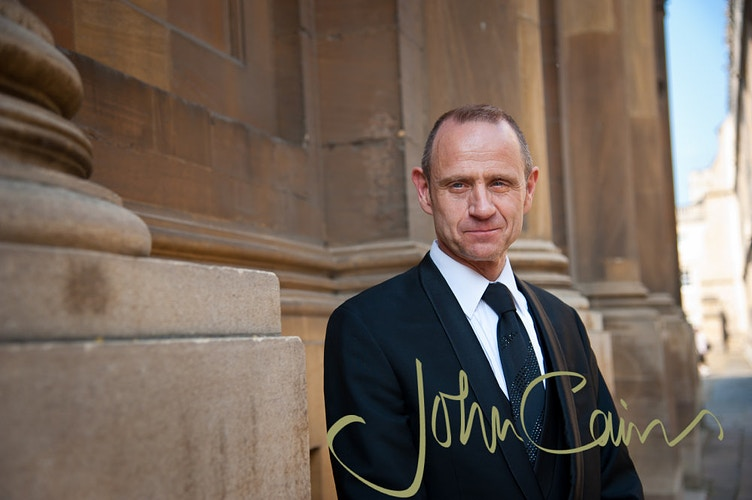 Evan Davies - Journalist & TV/radio presenter - John Cairns Photography