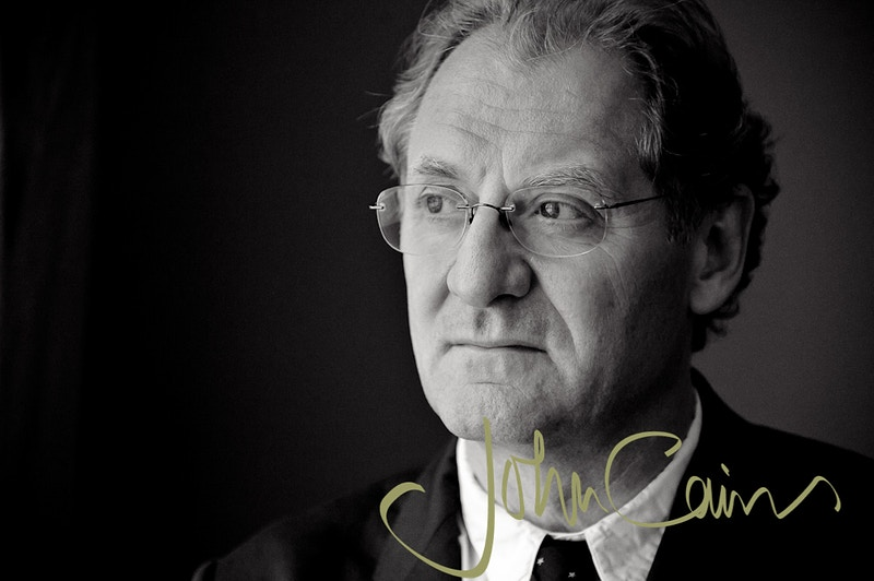 Sir Andrew Motion - Former Poet Laureate - John Cairns Photography