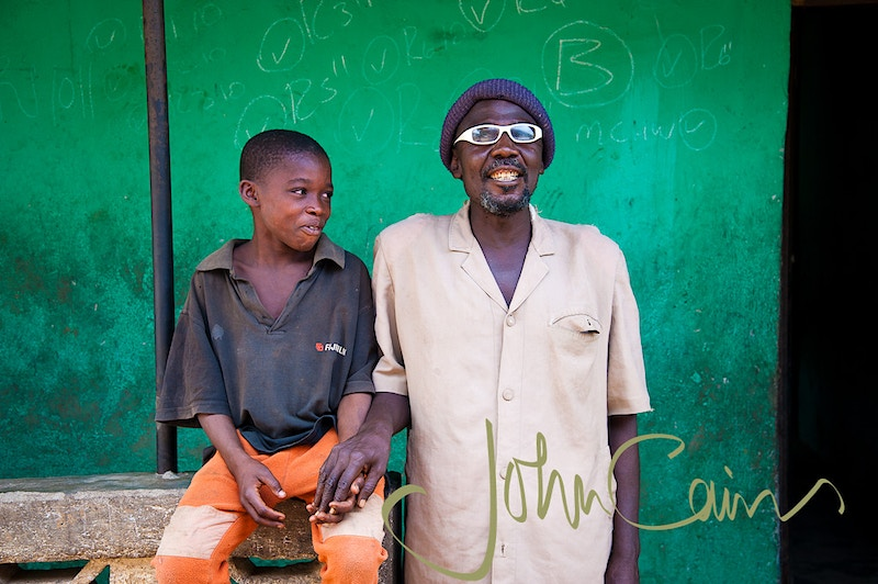 Living without sight, Sierra Leone - John Cairns Photography
