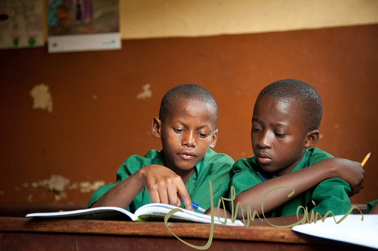 Education in Freetown - John Cairns Photography