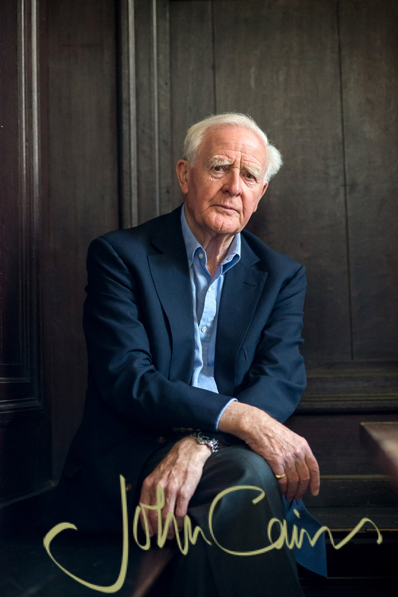 Author David Cornwell (John le Carre) - John Cairns Photography
