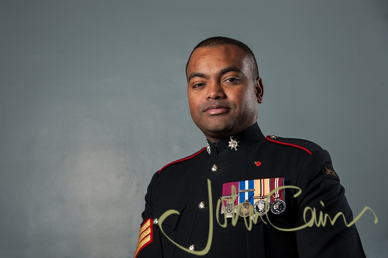 Sergeant Johnson Beharry - John Cairns Photography