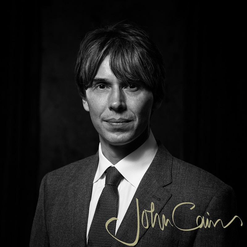 Professor Brian Cox at The Royal Society, London - John Cairns Photography